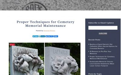 Rock of Ages showcases Travis Monuments for artistry in cleaning and restoration processes.