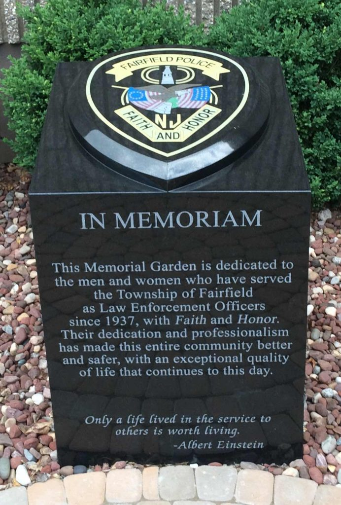 Civic Memorial – Fairfield Police Dept