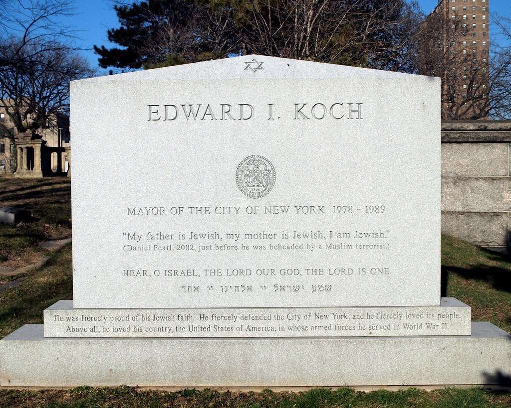 Civic Memorial – Jewish – Koch