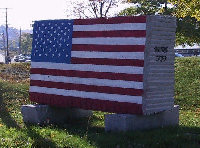 Civic Memorials – American Flag Monument