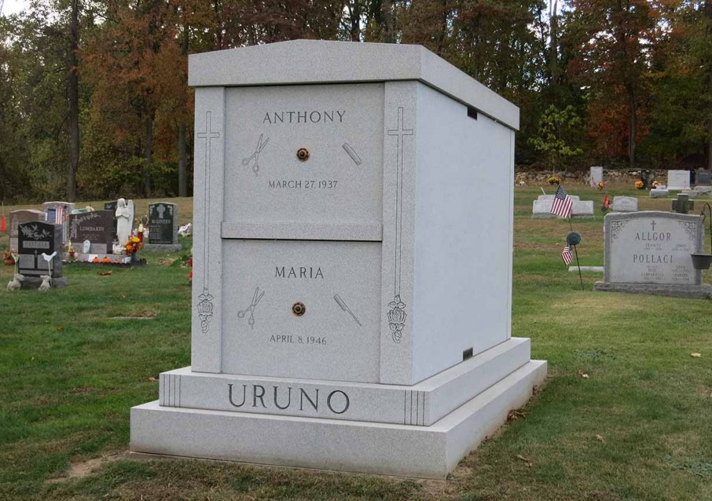 Mausoleum – Family Estate Monument – Christian – Catholic -Bruno