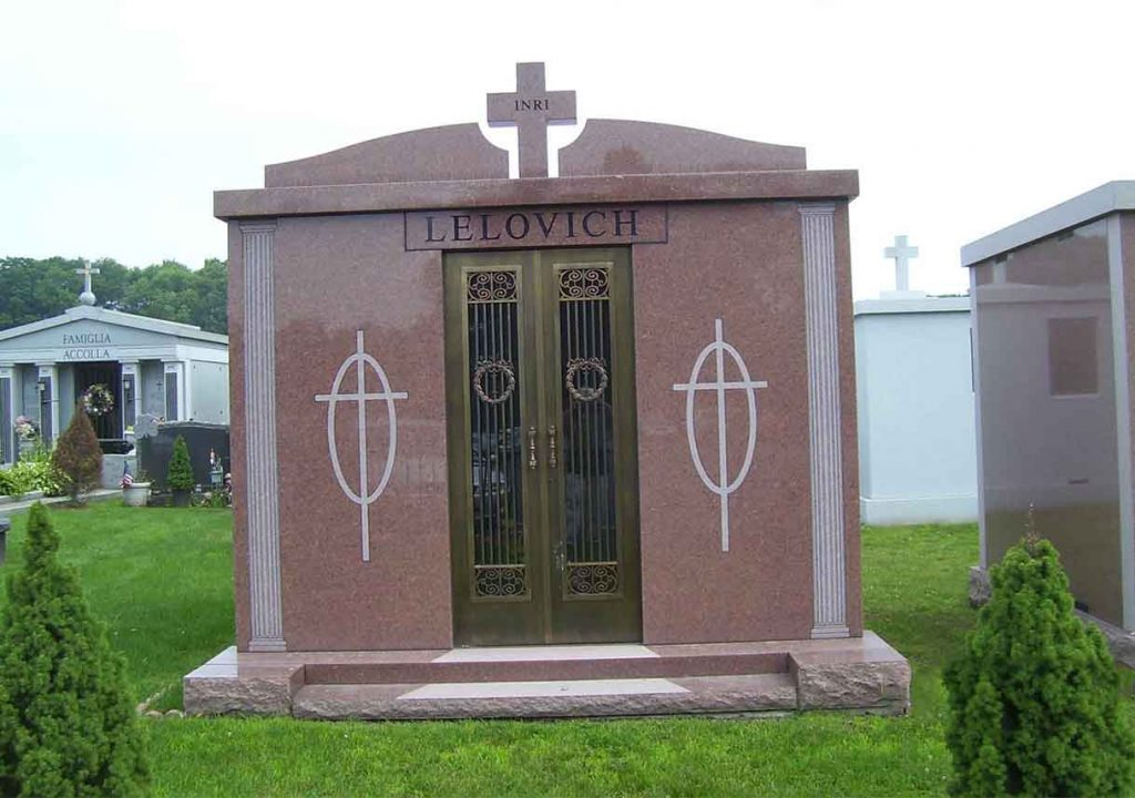 Mausoleum – Family Estate Monument – Christian – Catholic -Ielovich