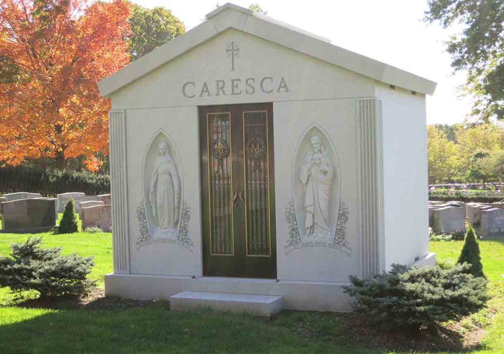 Mausoleum – Family Estate Monument – Christian – Catholic -Maresca 2