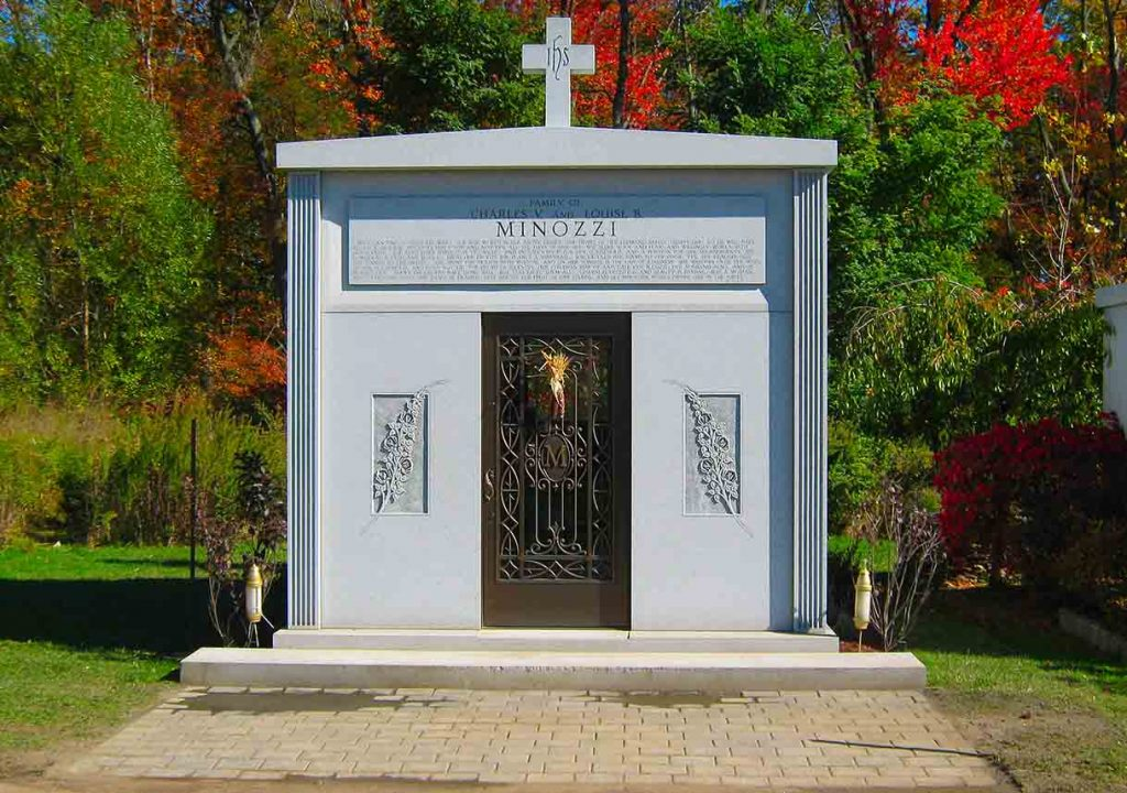 Mausoleum – Family Estate Monument – Christian – Catholic -Minozzi