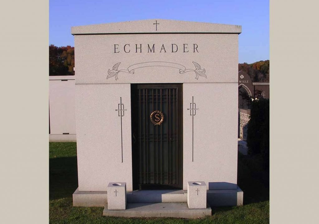 Mausoleum – Family Estate Monument – Christian – Catholic -Schmader