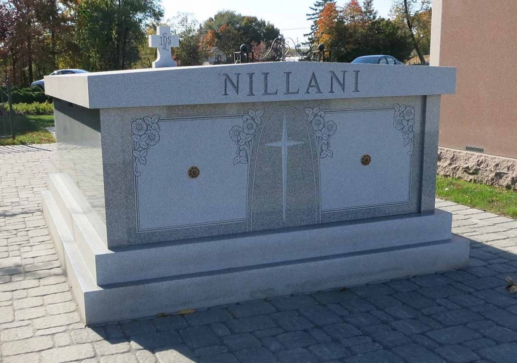 Mausoleum – Family Estate Monument – Christian – Catholic -Villani
