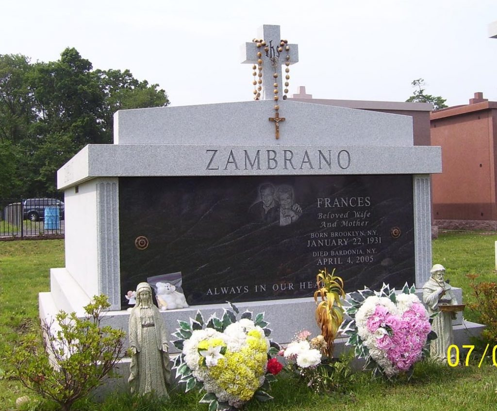 Mausoleum – Family Estate Monument – Christian – Catholic -Zambrano